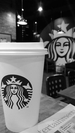Monochrome x coffee Indoors  No People Day EyeEm Best Shots Blackandwhite Monochrome Photography Black & White Coffee Time Coffee ☕ Coffee Shop Monochrome _ Collection Monochrome Black And White Portrait Starbucks Love Starbucks Starbucksphilippines Illuminated Eyeem Philippines Grayscale Follow4follow EyeEmNewHere POTD Welcome To Black