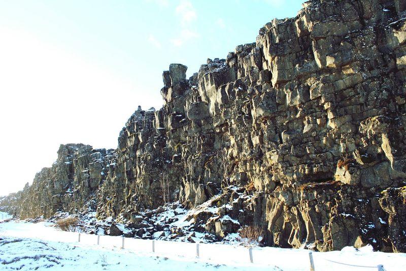 Tectonicplate Plate Tectonics Iceland Landscape Nature Snow