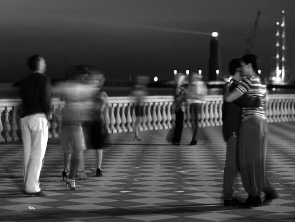 Tango Tango Dancers Traveling The Places I've Been Today My Pic My Poem EyeEm Best Shots Cities At Night Visual Poetry Black And White Livorno Italy