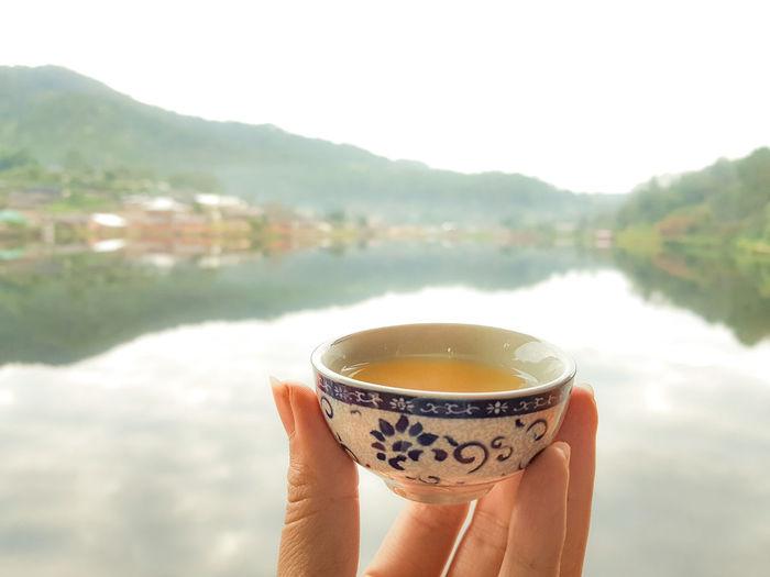 Scenery TeaCup