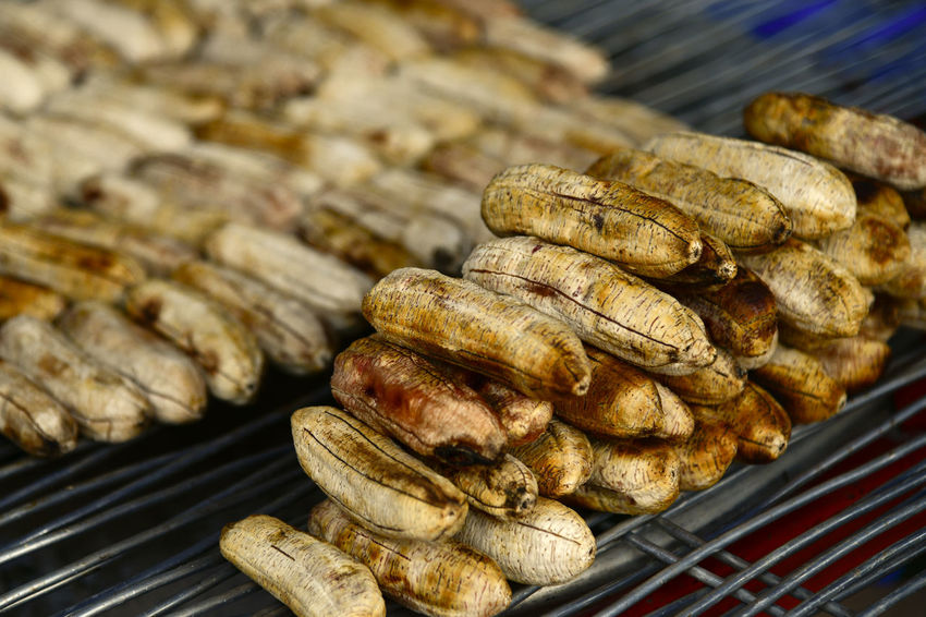 grilled mini banana Banana Grilled Banana Indochina Laos Trip Nikon D850 Barbecue Barbecue Grill Close-up D850 Day Delicious Delicious Food Focus On Foreground Food Food And Drink Freshness Fruit Grilled Grilled Fruits Healthy Eating High Angle View Indoors  Laos Laos Travel Large Group Of Objects Meat Mini Banana No People Preparation  Ready-to-eat Retail  Snack Still Life Street Food Sweet Sweet Food Temptation Wellbeing