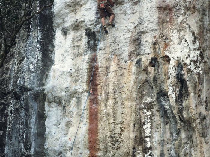Architecture Backgrounds Climber Climbing Close-up Day Laos Nature Outdoors Rock Climbing Rough Sport Textured  Textured