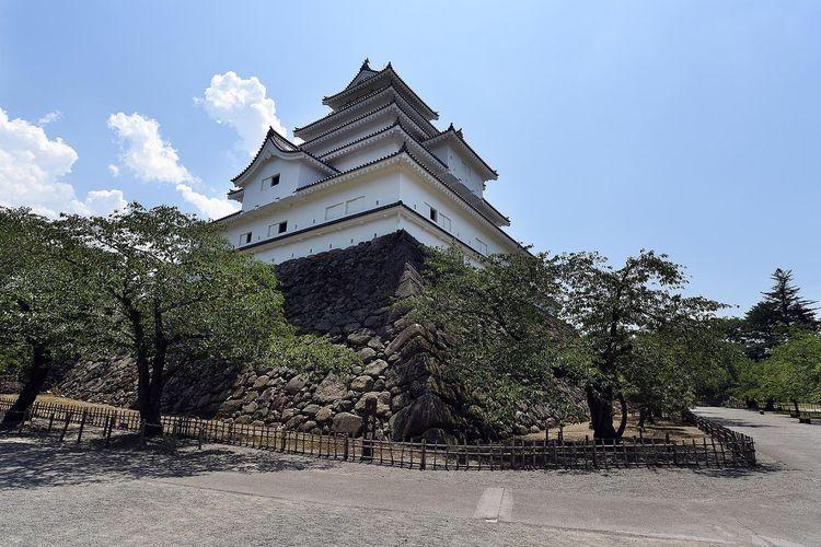 Castle FUKUSHIMA Japan Tsurugajo