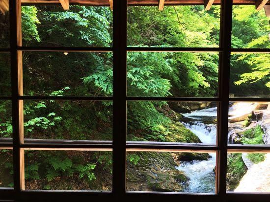 仙台市内の作並温泉。仙台赴任後、県内の温泉は初めて。足腰の疲れがスッと取れて良かったー♪車で1時間程というのは有り難し❤︎ Hotspring Hot Spring Sakunami Onsen River View River Forest Old Architecture Sendai Hello World