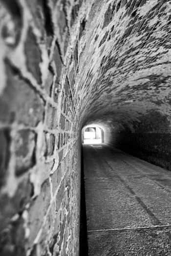 Arch Architecture Built Structure Diminishing Perspective Old Stone Wall Tunnel Vanishing Point Wall