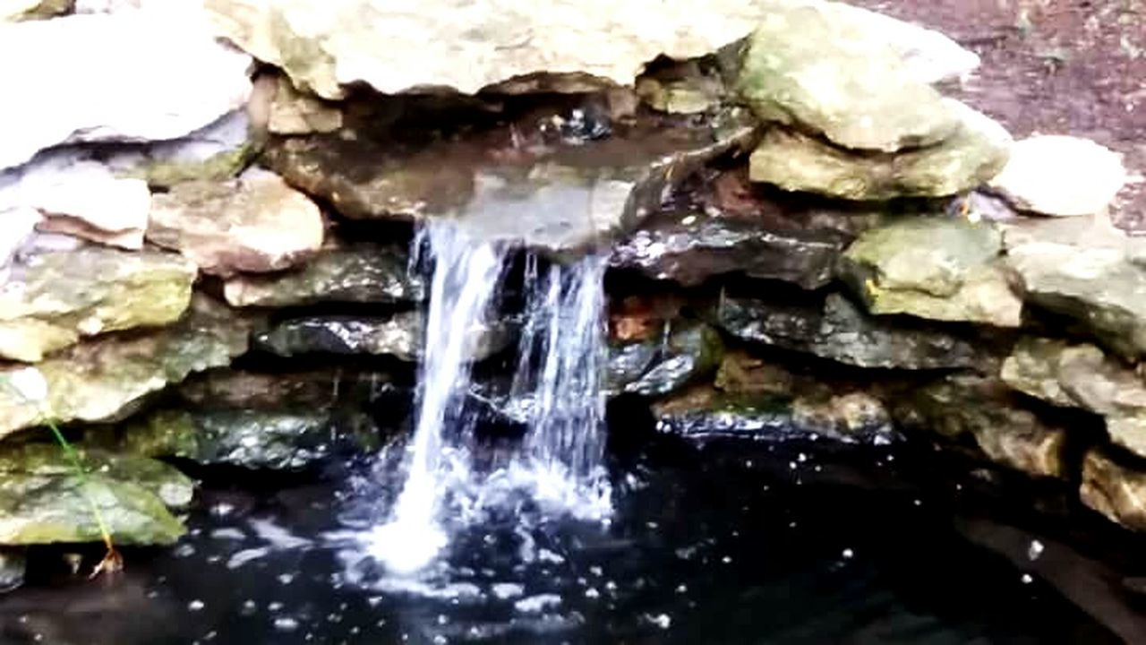 water, no people, rock - object, close-up, motion, day, outdoors, nature