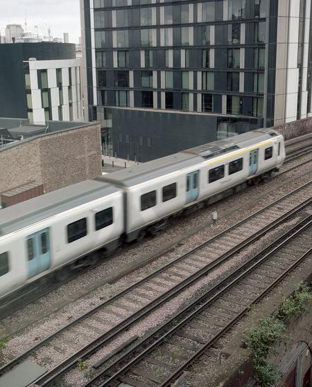 SE17 120mm City Film Industrial Postcode Postcards Skyline Film Photography Landscape Medium Format Motion Movment Train Urban