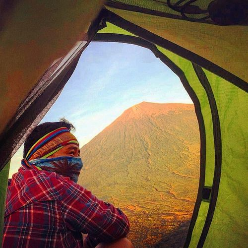 So alive Outdoors Nature Day Sky Fun Landscape Photography Smiling Landscape_Collection Indonesia_photography Landscape_photography Lombok Indonesia Explorelombok Cheerful Adventure Indonesian Mountain Hill Explore Lombok Sembalun Pergasinganhill FlirtingWithNature Lost In The Landscape