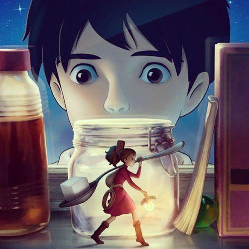 The Secret World of Arrietty Disney Secretworld Friendship Trust rules borrowers tinypeople smallpeople hidingplace