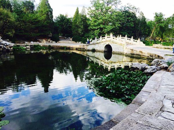 new summer palace of China