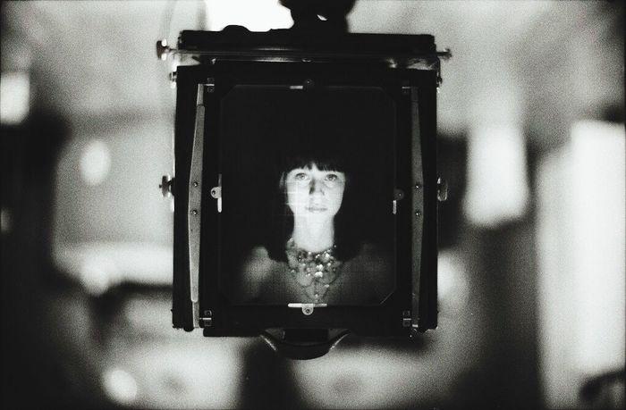 Ekaterina in DEADORFF 8x10 Monochrome 8x10 Large Format Portrait