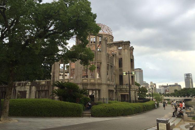 Hiroshima Peace Memorial Park Hiroshima Hiroshima Atomic Bomb Dome No More Atomic Bomb Pray For Peace Heritage