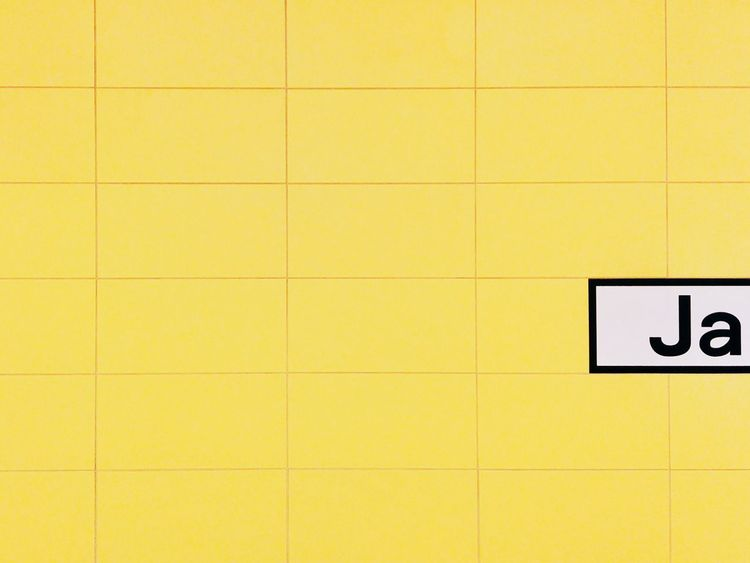 Name Tag Geometric Shape Jakob Sign Basic German Words Basicgermanwords Metro Station Minimal Contrast Minimalobsession Metro Tiles Subway Station Close-up Bvg No People Text Wall - Building Feature Discover Berlin Paint The Town Yellow