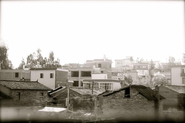 taken from a moving car Monochrome Blackandwhite Black & White Travel