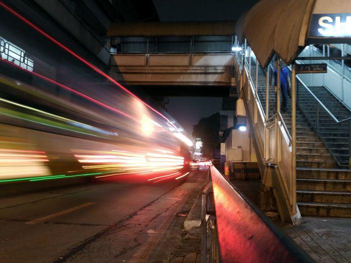 Cities At Night Street Night Long Exposure Mobilephotography EyeEm Eyeem Philippines EyeEm Best Shots Envision The Future Blurred Motion The Street Photographer - 2016 EyeEm Awards