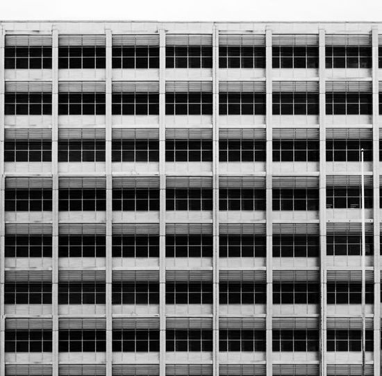 Full Frame Shot Of Office Building