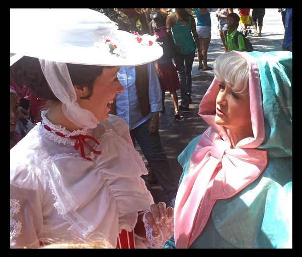 Girl Talk Mary Poppins Fairy Godmother