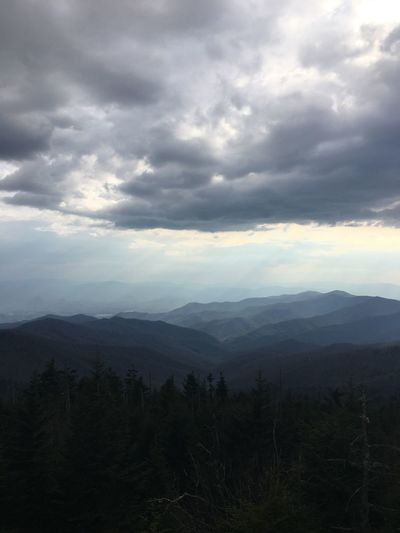 Mountains Appalachian Trail Appalachian Mountains Landscape Hiking Clingmans Dome Tennessee North Carolina Photography Nature Photography Travel Photography Hiking Photography Smoky Mountains