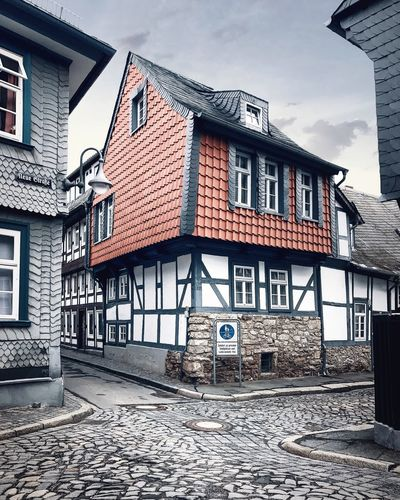Building Exterior Architecture Built Structure House Outdoors City Sky No People Day Goslar Goslar Germany