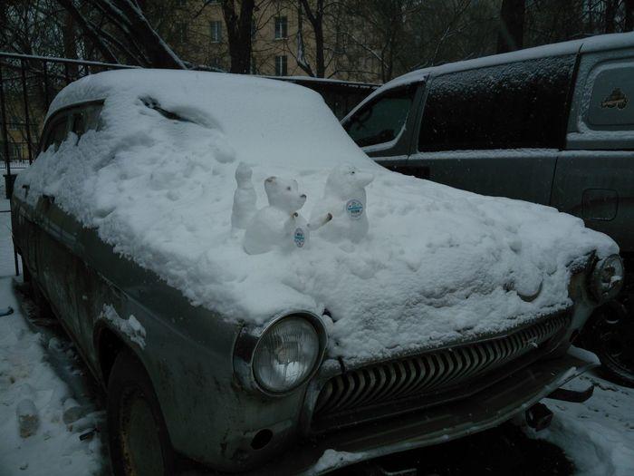 Car Winter Cold