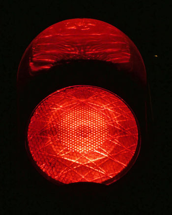 Red Light Signal Night Lights Night Nightphotography Nacht Nachtfotografie Sign Lamp Railway Bahnübergang Rotlicht Crossing Level Crossing Light Attention Achtung Red No People Black Background Outdoors Close-up Day