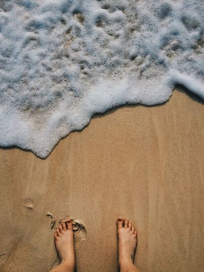 Toesinthesand Ocean Waves Tides The KIOMI Collection