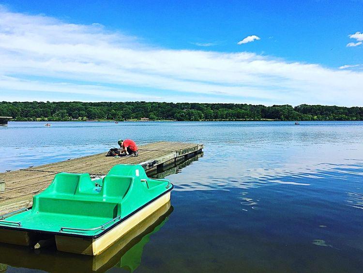 Taken at Peace Valley Park Pennsylvania Recreational Park First Eyeem Photo Pennsylvania Beauty Lakes  Lakeview Fishing