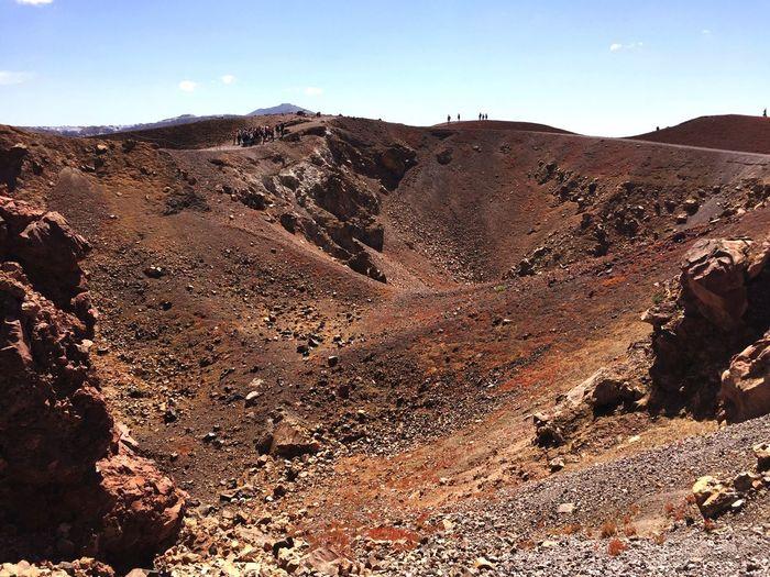 Volcano NeaKameni Santorinivolcano Crater Santorini Greece 🇬🇷🌋