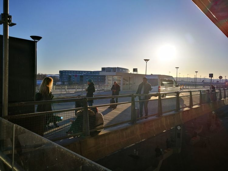 City Flying Bird Match - Sport Sunset Men Silhouette Sky