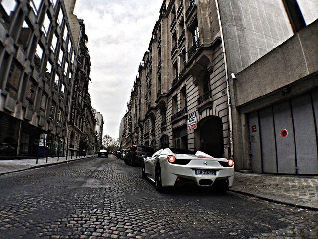 Sympathic owner parking his 458 Spider Enjoying Life Ferrari Ferrari458 Italy