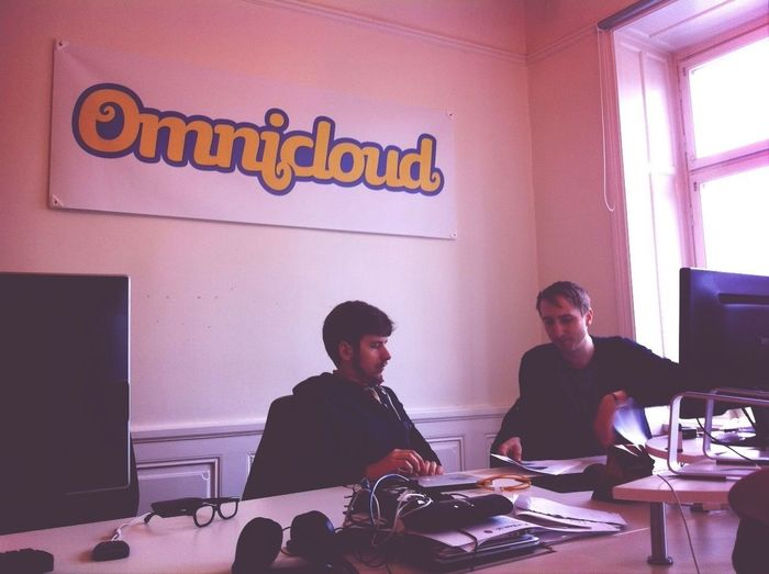 Happy reunion: hy! and @omnicloud in sthlm. @danielmarklund @schosswald Hyberlin