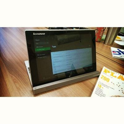 """Второй день пользуюсь гибридным гаджетом Lenovo Miix2 10"""" на IntelAtom и ОС Windows8 .1. Гаджет представляет из себя планшет и нетбук в одном устройстве. Скоро будет обзор на promobilekz ;)"""