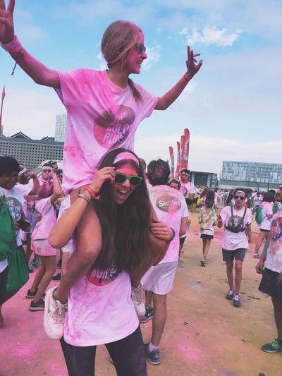 Color Run Barcelona 2016. ColorRun Colorrunbarcelona Colorrun2016 ColorRunBarcelona 2016 ColorRunPink Thecolorrun2016 TheColorRunBarcelona2016 The Pink Color Run