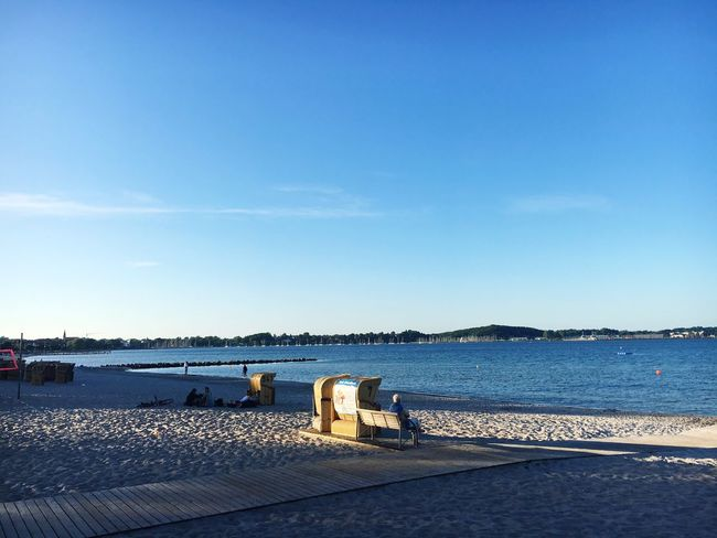 Water Sea Blue Beach Sky Nature Day No People Outdoors Tranquil Scene Horizon Over Water Scenics Beauty In Nature Clear Sky