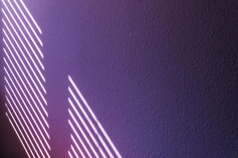 purple shining