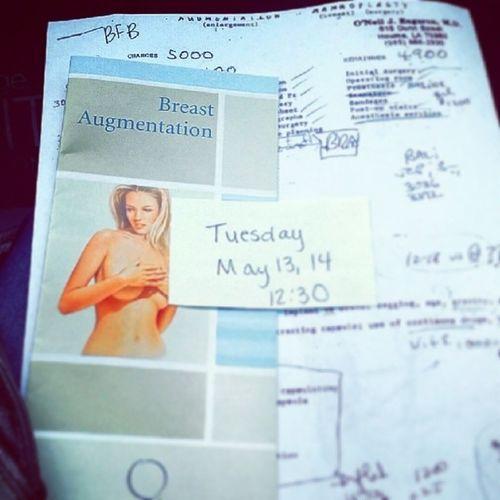 It's finally happening! Breastaugmentation
