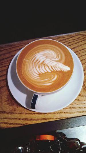 im gonna miss being a barista Latteart Rosetta Latte Coffee