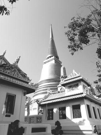 Monochrome Thai Temple Photo. History Tradition Tourism Thailand Day Backgrounds City Thai Temple Wat Thai Wat Tods Tada Photo Thailand Thailand Photos Bangkok Thailand. Thai Style Religion Travel Landscape Outdoors