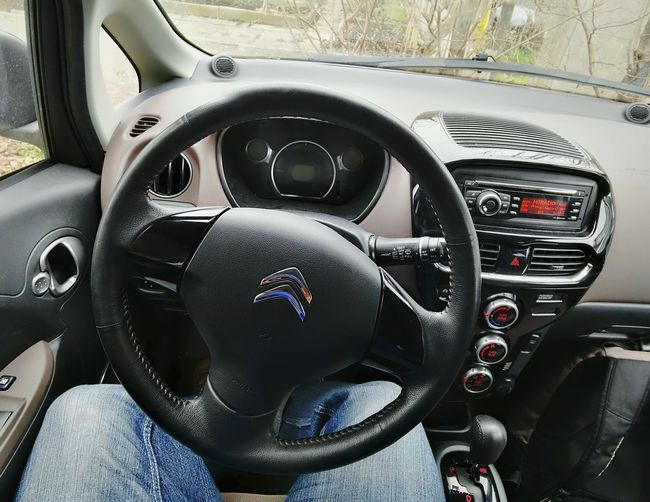 Comfort Interior Citroën Zero Electric Drive Cockpit Fahrersicht Lenkrad Steering Wheel Lederlenkrad Amaturen Citroen Citroen Leihwagen Electro Mobility Car Auto