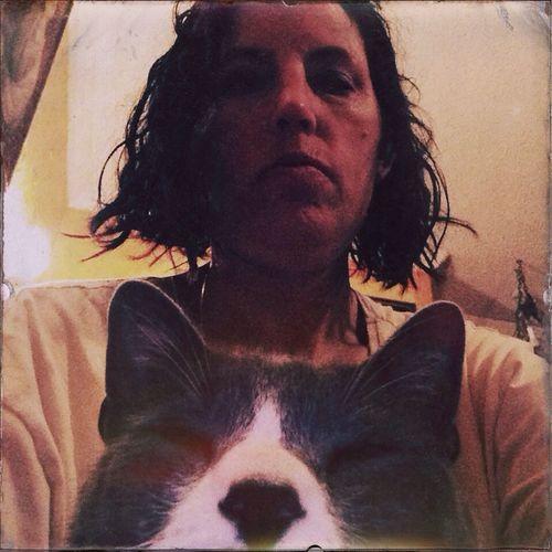 Me N My Cat My Cat Selfie Hipstamatic