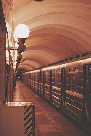 Lamp EyeEm Питер Subway Soft Calm Metro Station Public Transportation Russia, St.Petersburg EyeEmRussianTeam