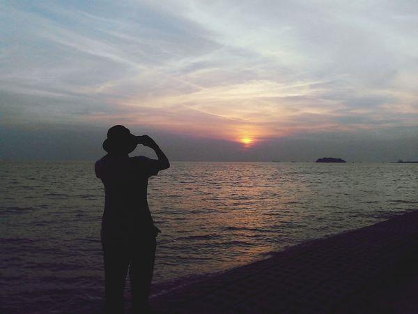 Sunset Silhouettes PD  Beautiful Sunset