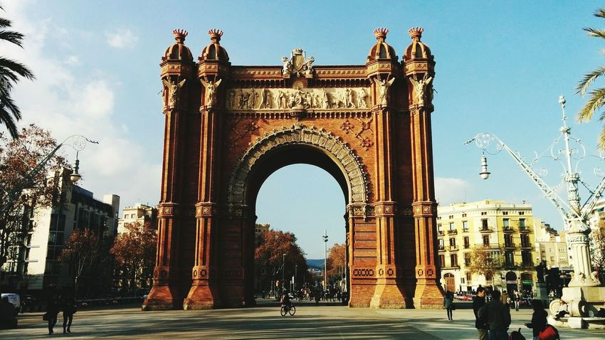 Barcelona, Spain Triumph Arch Architecture