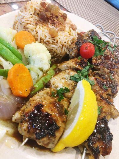 Turkish Chicken Kebab Foodporn Foodlover Mediterranean Food Chicken Food Bonding Over Food Qualitytime