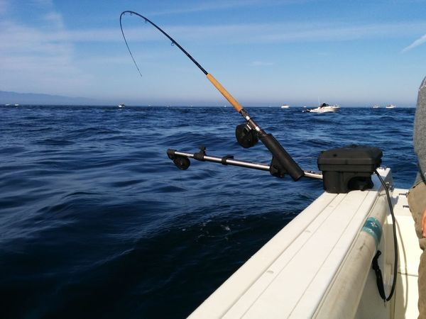 Outdoor Photography Fishing Blue Water Blue Sky Fishing Rod