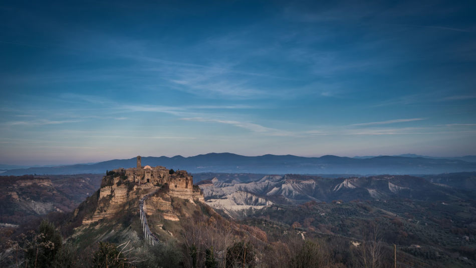 Civita Di Bagnoregio Colors Ghost Town Italy Landscape Marche Mountain Ontherocks Panorama Physical Geography Rock Formation Sky Tourism Touristic Destination Town Travel Destinations Trip Trip Photo Viterbo