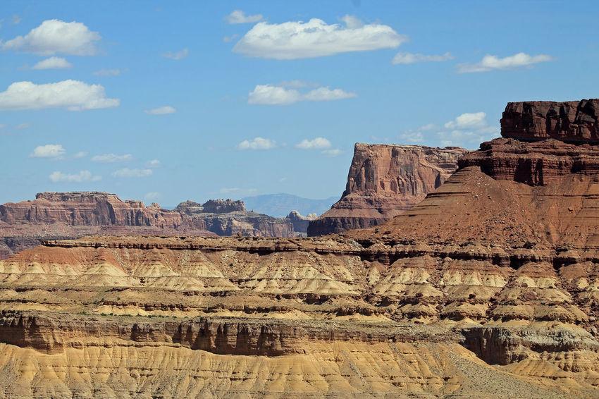 Gorgeous scenery road tripping through Utah Blue Sky Canyon Desert Deserts Around The World Geology Nature Roadtrip Utah The KIOMI Collection