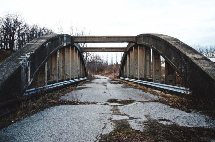 Ashtabula Ashtabula County Conneaut Bridge Abandoned AbandonedBridge Abandoned Bridge No People Overgrown