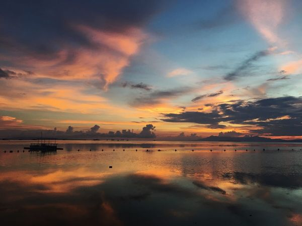EyeEm Selects Sunset Cebu Philippines Beauty In Nature Tranquility Cloud - Sky Nature Bohol Sunset Beach Bohol Philippines