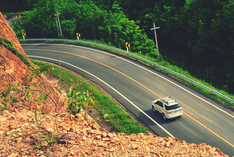 Journey Journeyphotography Travel No People Road Road Trip On The Way Dream Destination Transportation Motor Mountain View View From Above Taking Photos Vehicle